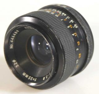 35MM F2.8 WIDE ANGLE LENS SCREW MOUNT MICRO 4/3 (pce125012)