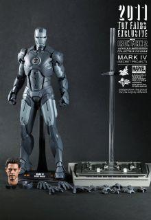 Hot Toys Iron Man 2 Mark 4 IV 12 Figure 1 6 MISB Avengers SDCC Secret