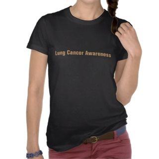 Lung Cancer Awareness T Shirts