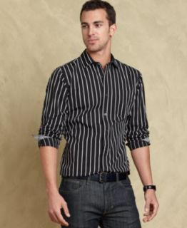 Tommy Hilfiger Shirt, Tucker Long Sleeve Slim Fit Shirt   Mens Casual