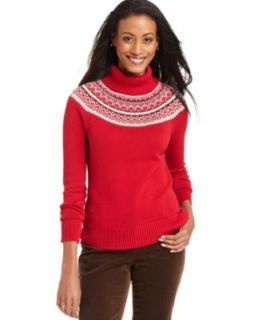 Tommy Hilfiger Sweater, Long Sleeve Heathered Cable Knit