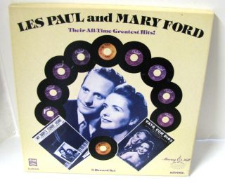 Les Paul Mary Ford All Time Hits 3 LP Set Murray Hill
