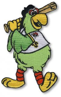 Pittsburgh Pirates Parrot Logo Mascot Jersey Patch