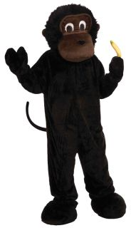 Monkey Mascot Adult Costume Parties Grand Opening Schools Plush Ape