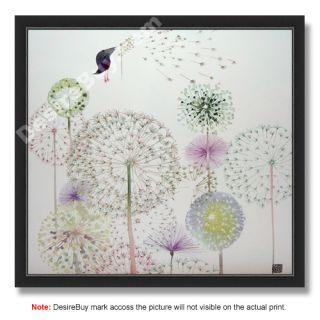 Masha DYans Watercolor Seasons 11x12 Print Framed