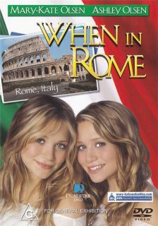 When in Rome New SEALED DVD R4 Mary Kate Ashley Olsen