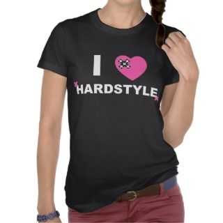 Love Hardstyle T shirt