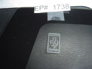 Ferrari 512TR Testarossa Left Rear Quarter Window Glass