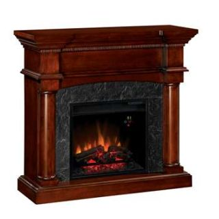 Classic Flame Marthas Vineyard Electric Fireplace Antique Mahogany