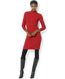 Anne Klein Dress, Three Quarter Sleeve Drop Waist Sweater Dress