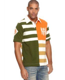 Ecko Unltd Shirt, Cascading Logo Polo