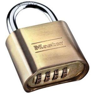 Image of New Master Lock 4 Digit Resettable Combination Padlock