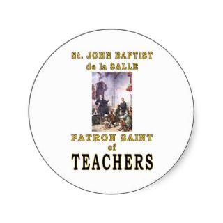 ST. JOHN BAPTIST de la SALLE Stickers