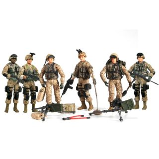 18 Ultimate Set of 6 Bravo Team US Marines Corps American Soldier