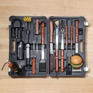 Heritage Professional Stainless Steel BBQ Tools Set