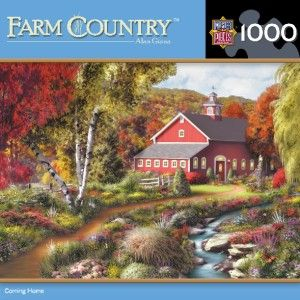 Masterpieces Farm Country Coming Home Jigsaw Puzzle 1000 PC