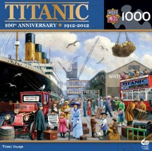 Masterpieces Kevin Walsh Titanic Voyage Jigsaw Puzzle 1000 PC