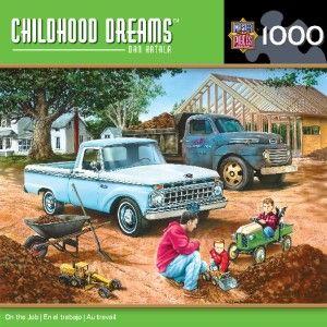 Masterpieces Dan Hatala on The Job Cars Jigsaw Puzzle 1000 PC