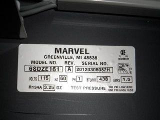 Marvel 6SDZE161 24 Dual Zone Wine Cellar Retail $2 699
