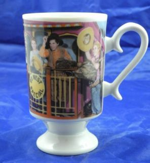Go West MGM Marx Brothers Groucho Chico Harpo Ceramic Coffee Mug White