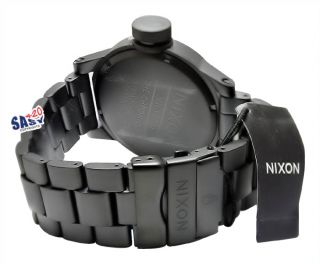 Nixon A1981028 Chronicle SS All Matte Black Men Watch