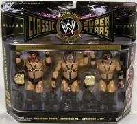 WWE Classic Superstars Wrestling Figure 3 Pack Demolition AX Crush