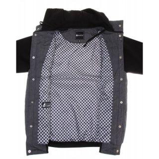 Matix Asher Chambray Jacket Black Mens Sz M