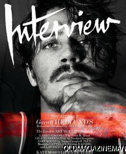 Garrett Hedlund Interview Magazine December 2012 Kate Moss Jeff Koons