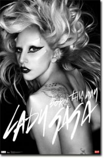 Lady Gaga Born This Way Poster