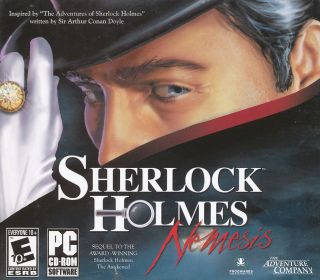 Sherlock Holmes Nemesis The Awakened Sequel US Version Mystery PC Game