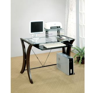 Perfect for a dorm room or home office, this table desk will bring a