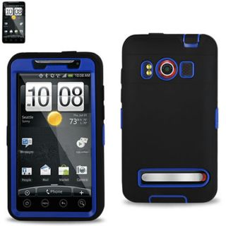 HTC EVO 4G Supersonic Impact Defender Double Layer Case Heavy Duty