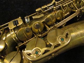 Hand Selected P. Maurait 67RUL Un Lacquered Alto Sax w/ Rounded Tone
