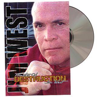 New Master of Destruction Jim West Fighting Secrets Techniques 2 Disc