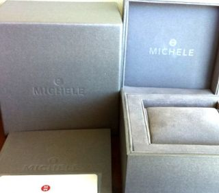 Michele watch fits 18mm urban square stainless steel case Genuine