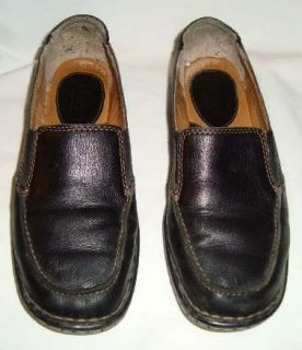 Born Black Moccasin Loafer Flats Size 7 38 M