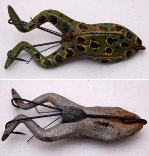 Jamison Hastings Weedless Rubber Frog Vintage Fishing Lure