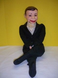 Vintage Charlie McCarthy Dummy Ventriloquist Puppet Goldberger Doll