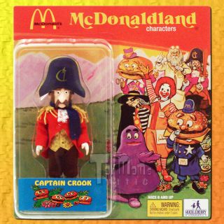 McDonalds McDonaldland SDCC08 Captain Crook Blue Scarf