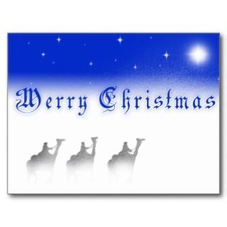 Wise Men Still Seek Him, Christmas Post Card