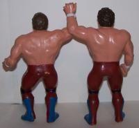 WWF WWE LJN Wrestling Figure British Bulldogs Lot Dynamite Kid Davey