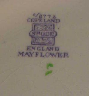 Mayflower Copeland Spode 12 3 4 Chop Plate