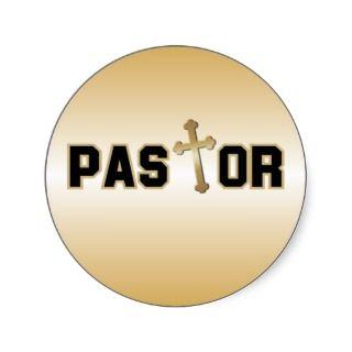 Pastor Sticker