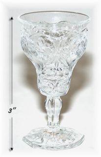 McKee Crystal Rock Crystal Cordial Goblet