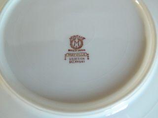 Noritake Mayville 7 3 4 Salad Plate Japan 69541 VGC Pink Roses Gold