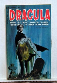 1966 Dracula Comic Paperback Book McWilliams Art