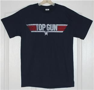Top Gun Tom Cruise Maverick Navy Movie T Shirt M L XL
