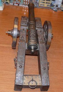 Black Powder Signal Salute Cannon Replica of A Portuguese Spanish 21