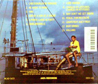 Best of Jimmy Buffett Greatest Hits CD 70s Pop Seventies Country Folk