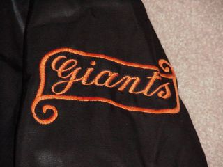 San Francisco Giants Game Worn Cold Weather Jacket